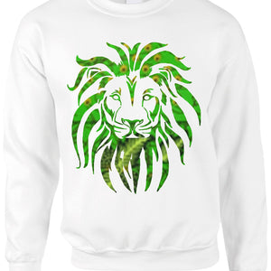 Womens LION OF JUDAH Christmas Sweatshirt