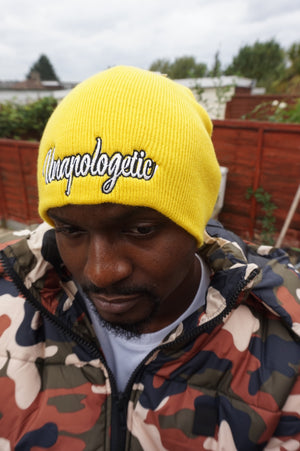 Mens UNAPOLOGETIC Pull On Beanies