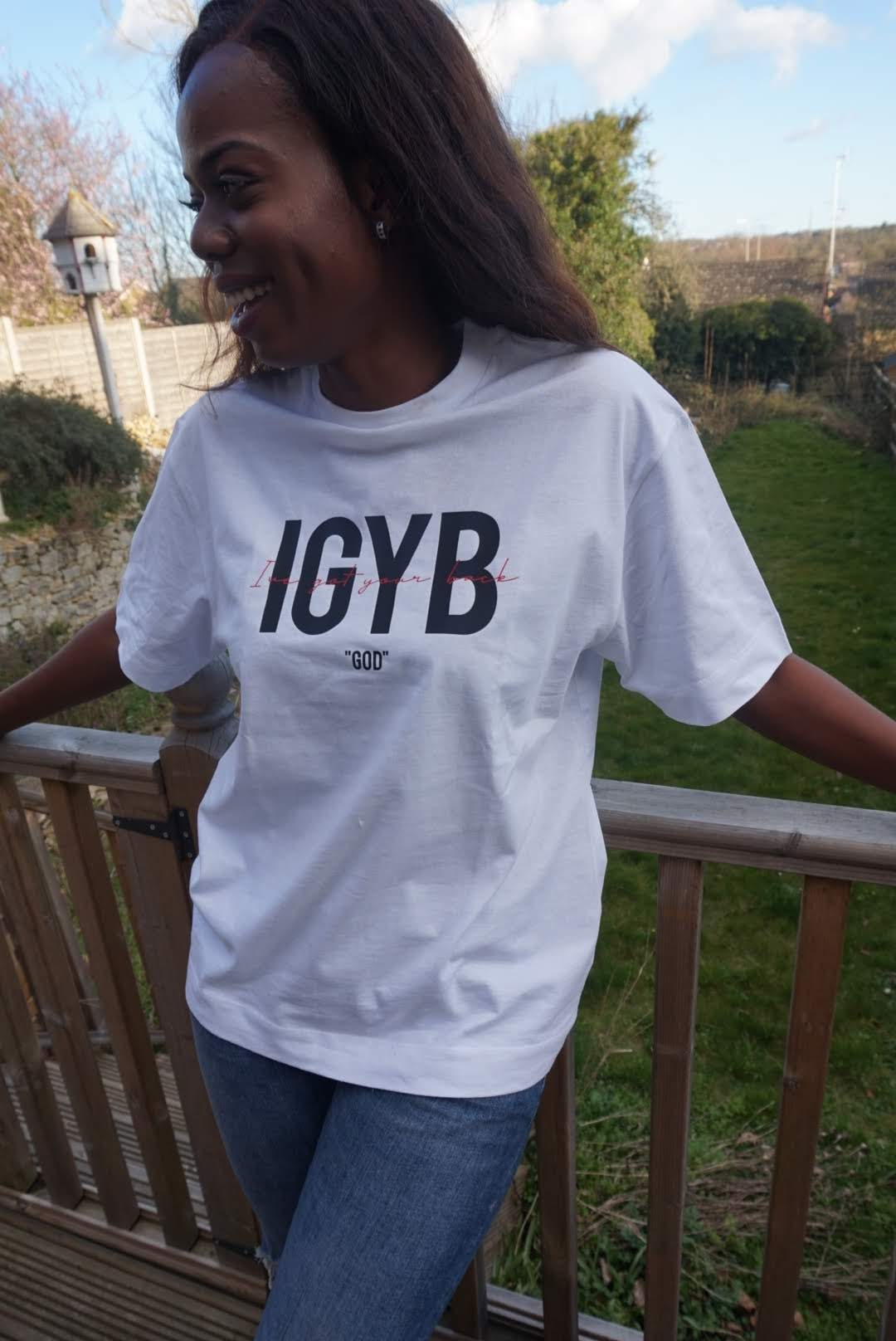 IGYB Oversized T-Shirt (White)