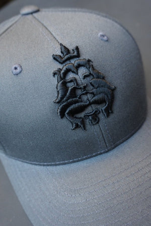 LION AND LAMB Curved Snapback