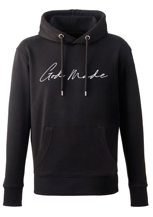 UNISEX GOD MADE HOODIE (BLACK)