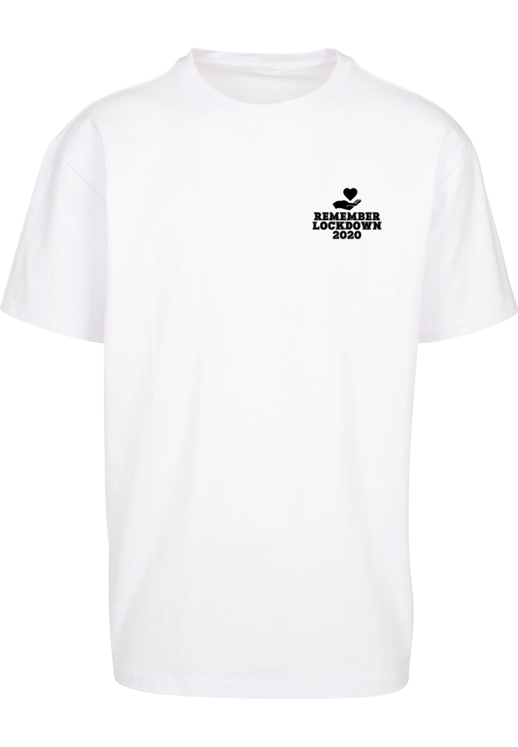 Unisex Lockdown logo 2020 Tee (White)