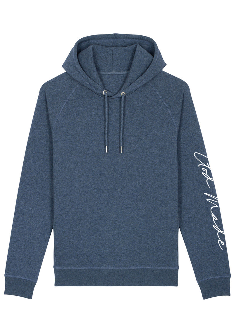 Unisex God Made Dark Blue hoodie