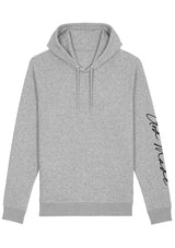 Unisex GOD MADE pullover hoodie (H.grey)