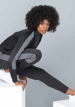 TRUST GOD PRAY MORE Unisex Knitted tracksuit pants (Gunmetal)