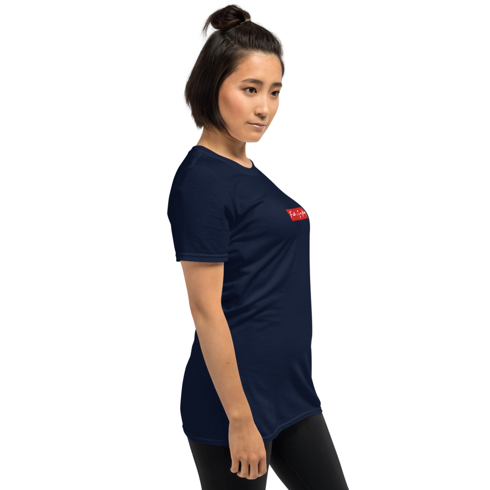 FAITH IS EVERYTHING CENTER CREW NECK T-SHIRT (NAVY)