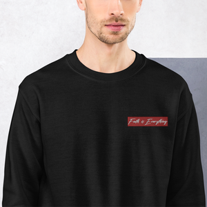 FAITH IS EVERYTHING Logo Sweatshirt (Black)