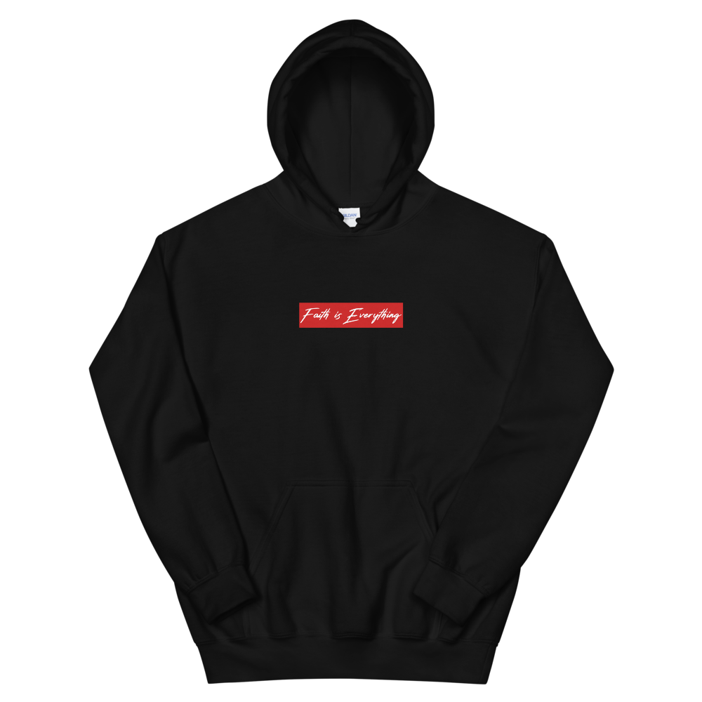 FAITH IS EVERYTHING Unisex Hoodie (Black)