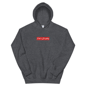 FAITH IS EVERYTHING Unisex Hoodie (CHARCOAL)