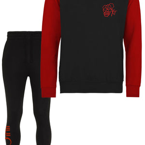 Mens FXT 4:13 Contrast sleeve Sweat Set