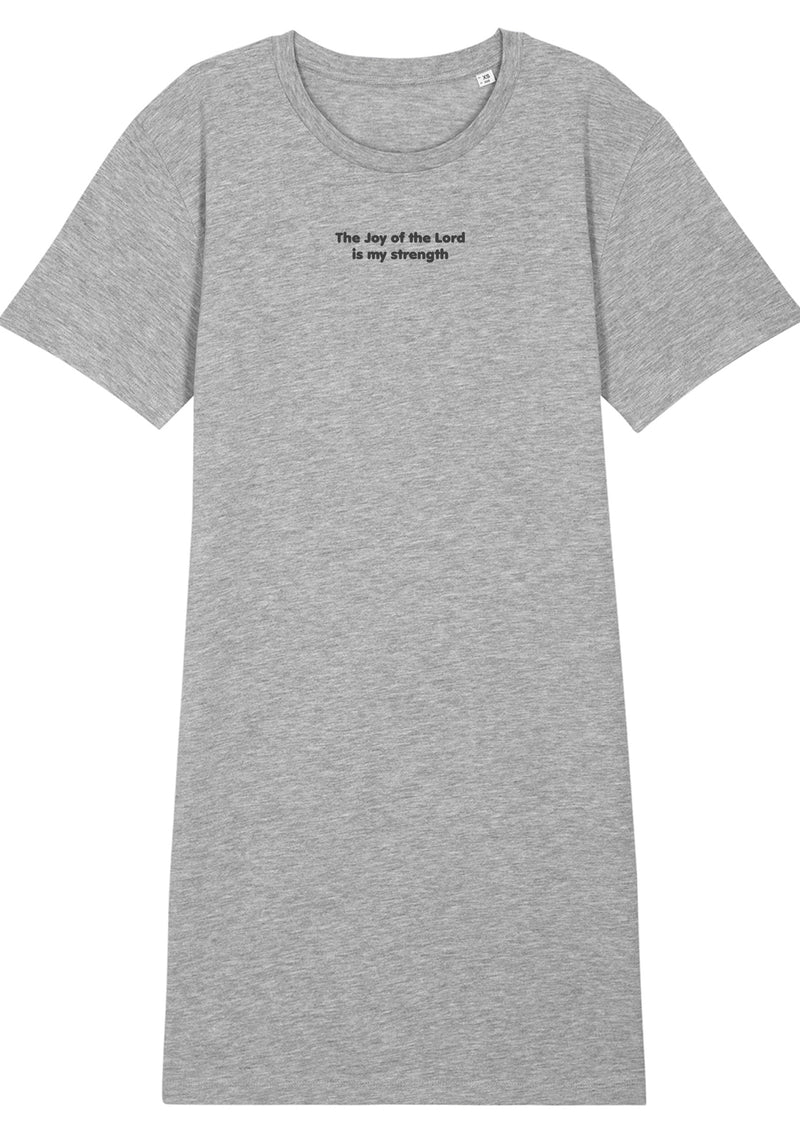 The Women's Proverbs Heather Grey T-Shirt Dress