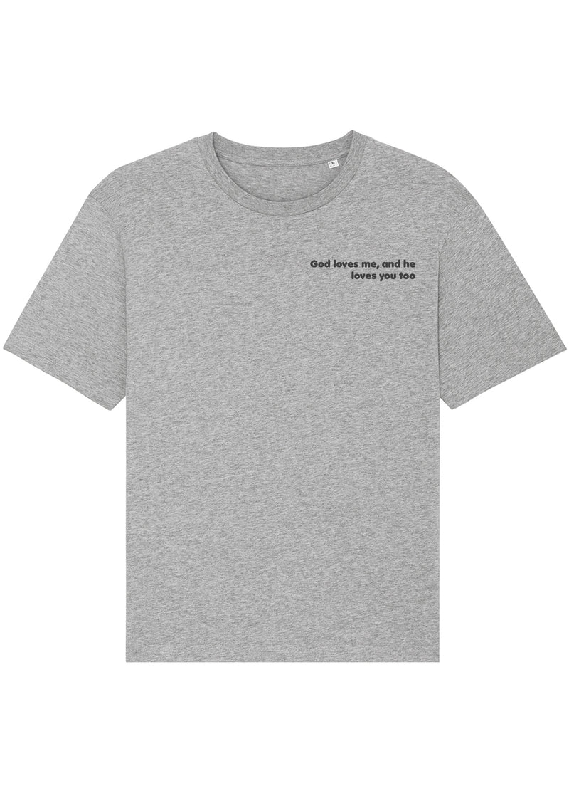 The Proverbs Unisex Heather Grey Relaxed T-Shirt