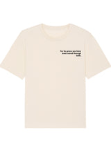 The Proverbs Unisex Natural Raw Relaxed T-Shirt