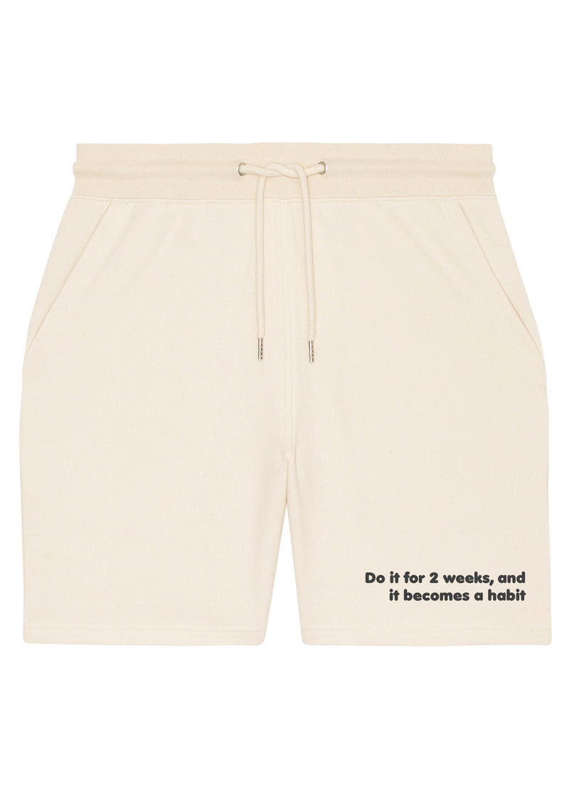 The Proverbs Unisex Natural Raw Terry Jogger Shorts