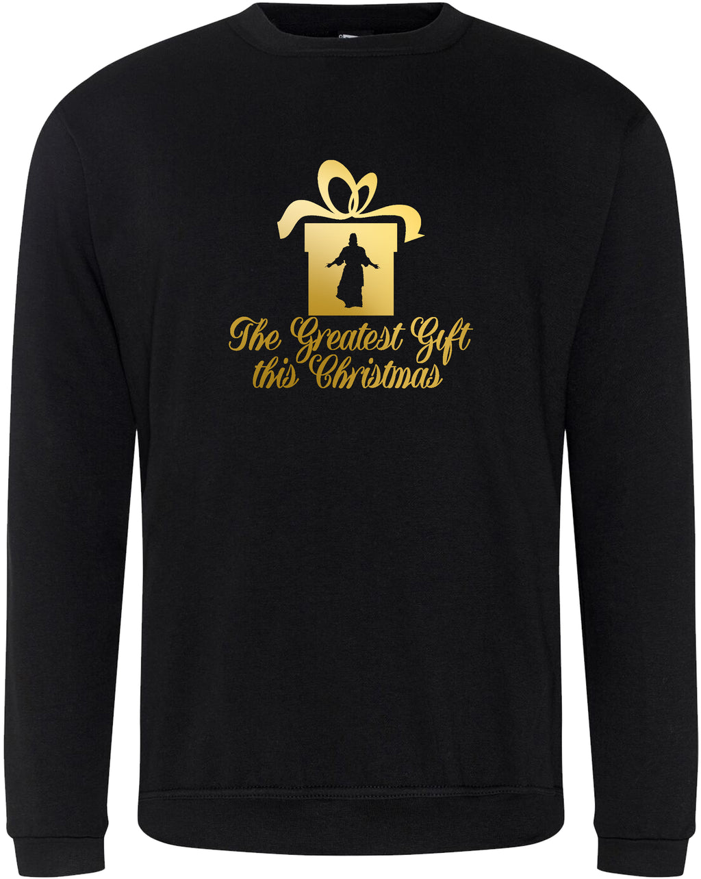 "Unisex ""GREATEST GIFT"" CHARITY CHRISTMAS SWEATSHIRT"