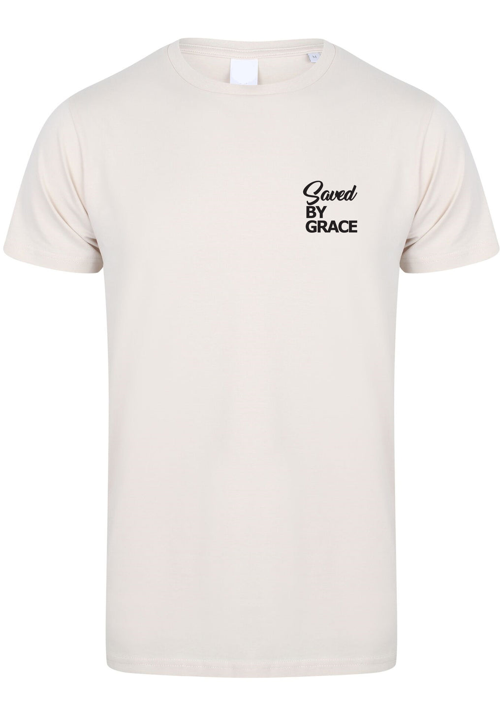 Mens SBG Crew neck S/S Tee (Cream)