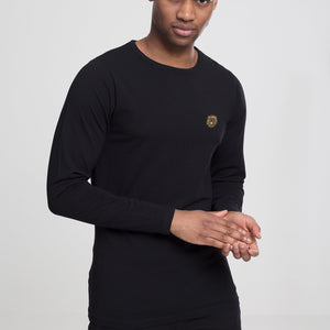 Mens Judah Tribe Crew neck L/S Tee