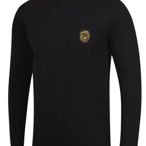 Mens LION OF JUDAH Turtle neck L/S Tee