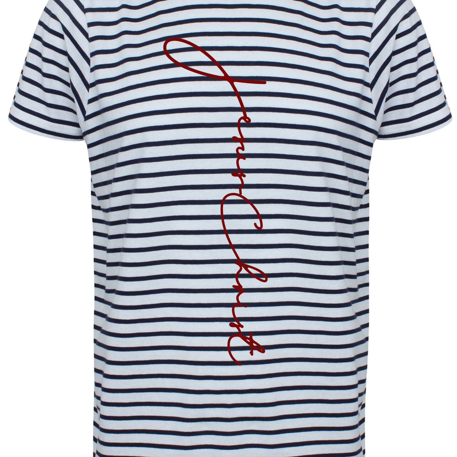 Mens JC Striped T-Shirt