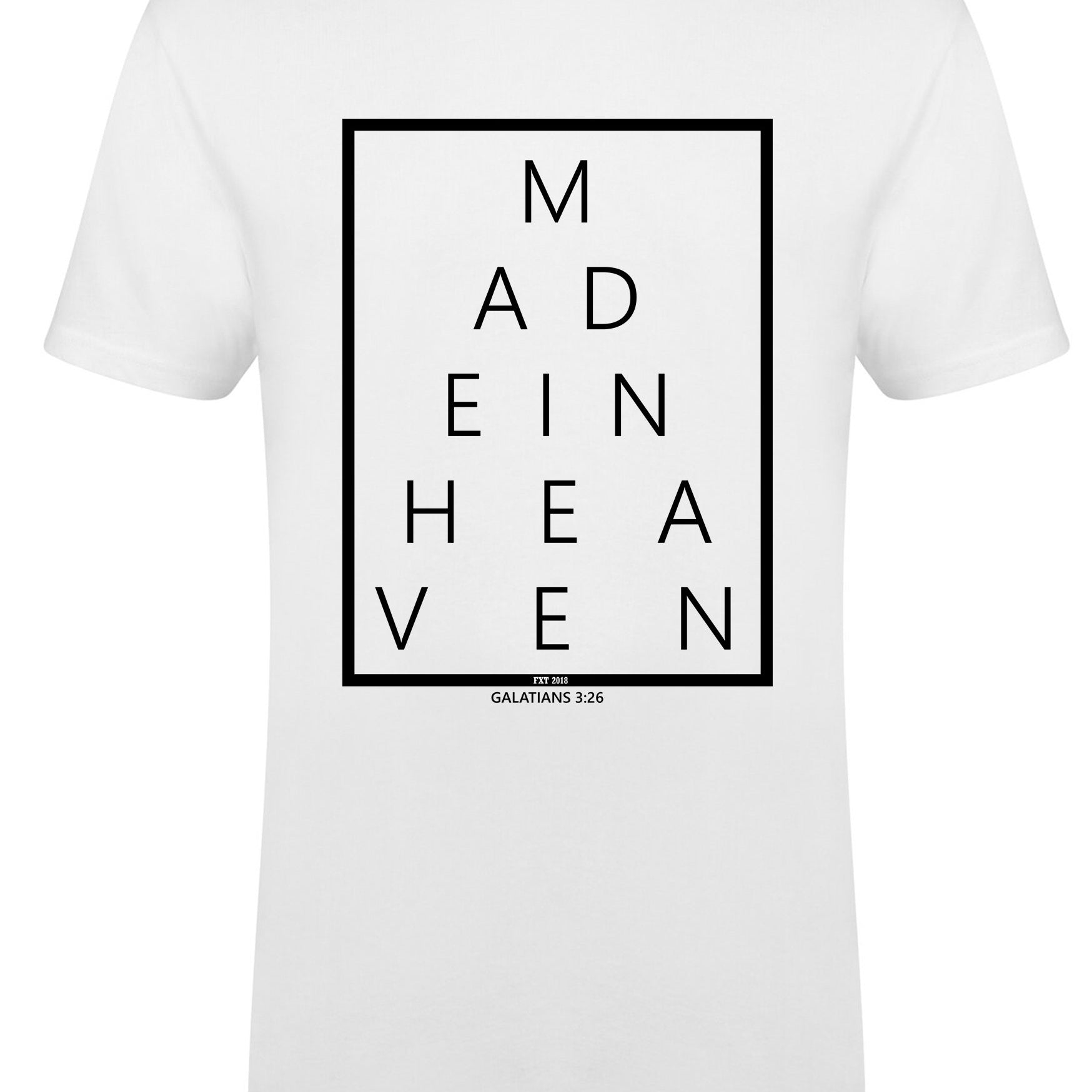 Kids MADE IN HEAVEN Longline t-shirt with dipped hem S/S