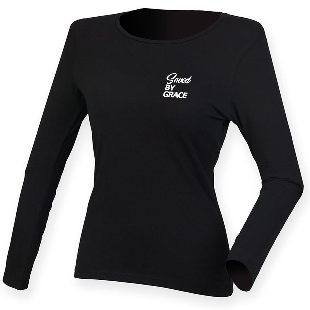 Womens SBG Stretch L/S Tee