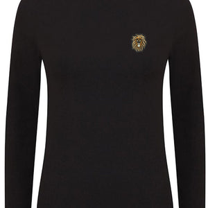 Womens Judah Tribe Turtle neck L/S Tee