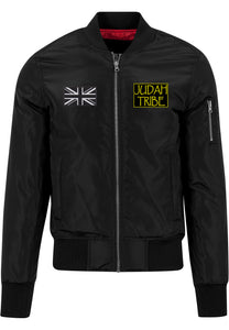 Mens LION OF JUDAH Bomber Jacket (Black)