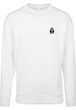 LION AND LAMB Unisex Sweatshirt (White)