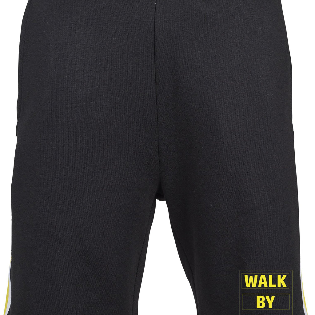 Mens WALK BY FAITH Stripe Sweatshorts