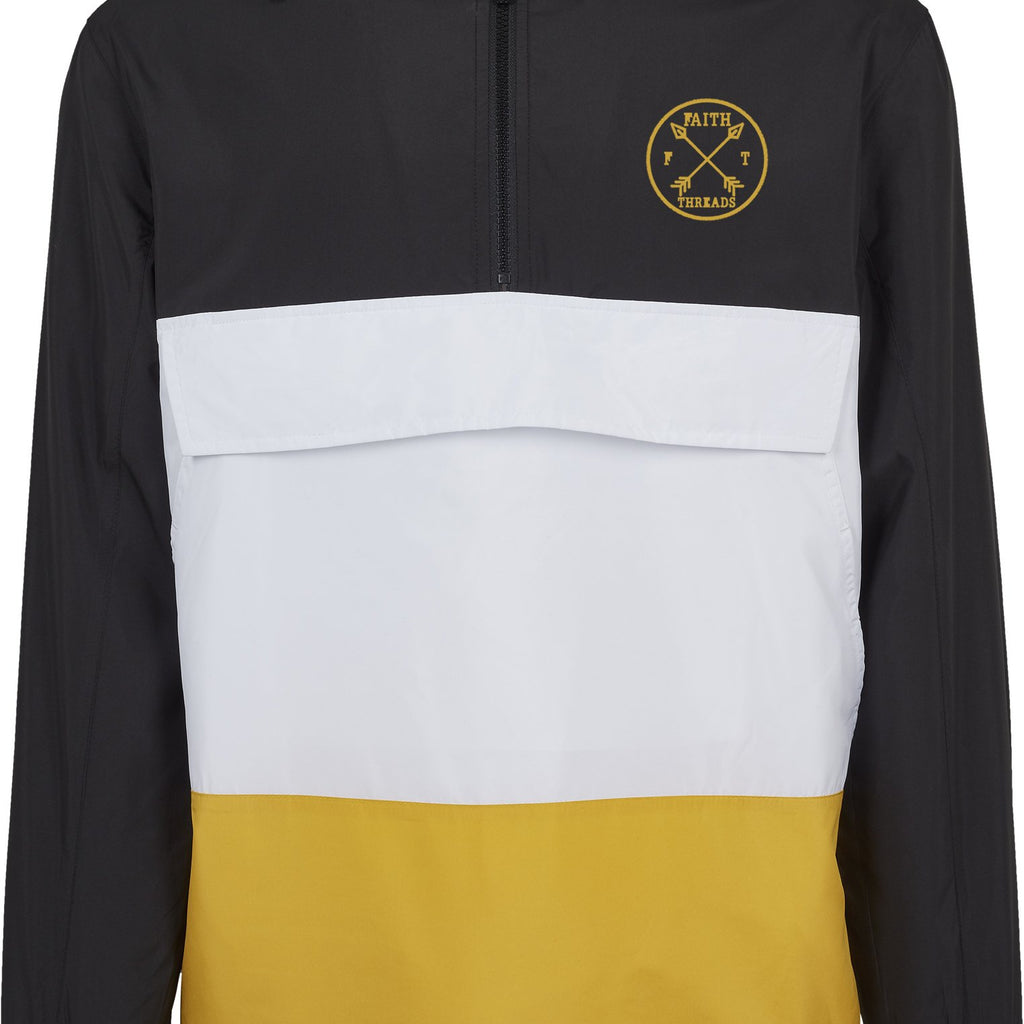 Mens FXT Colour block pull over Jacket