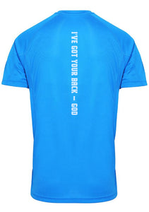 Mens IGYB Panelled T-Shirt (Blue)