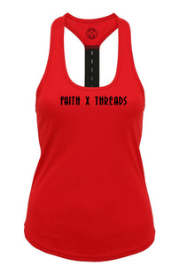 Womens FXT Performance RacerBack Vest (Red)