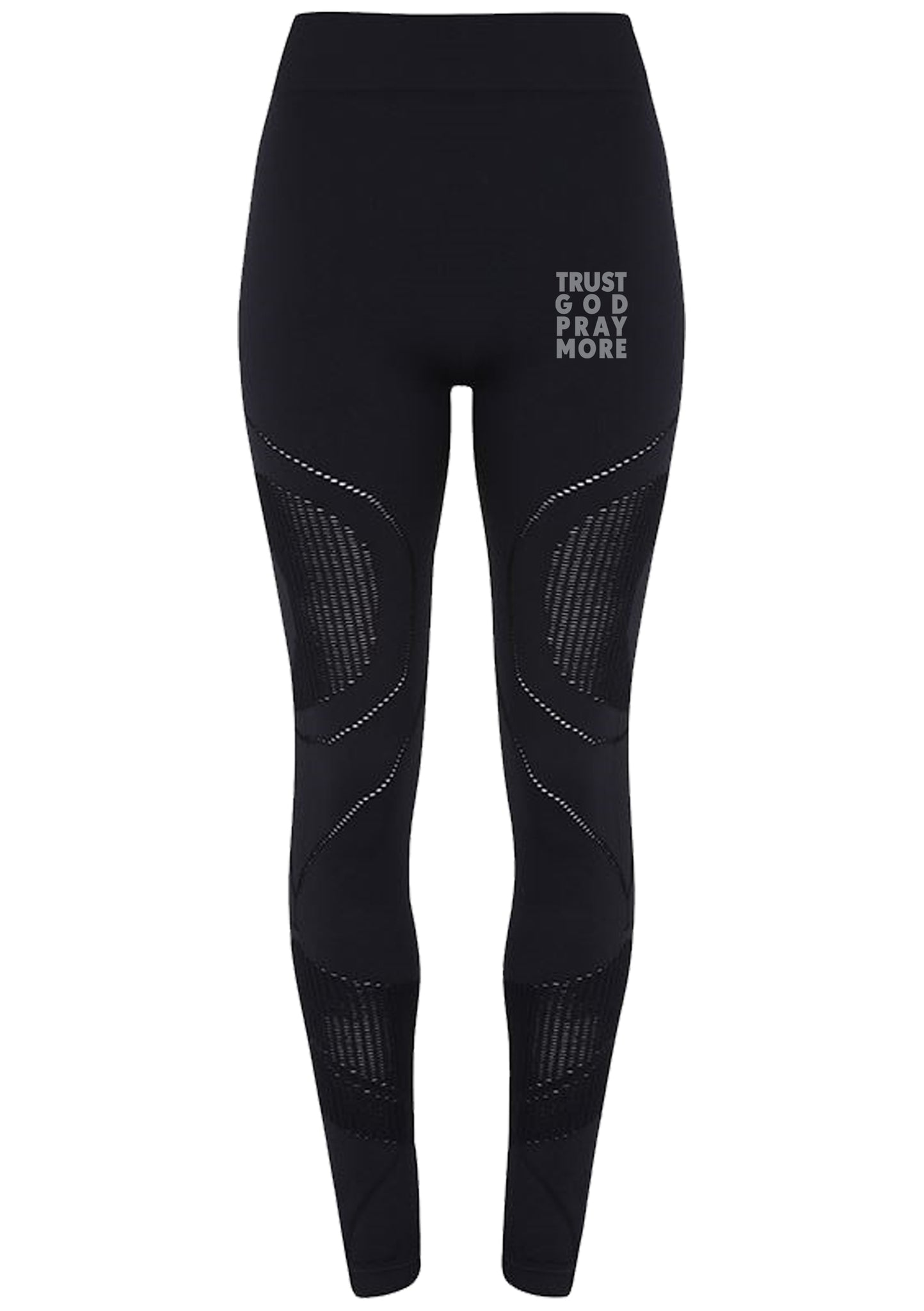 Womens TRUST GOD Seamless '3D fit' Multi-Sport Sculpt leggings