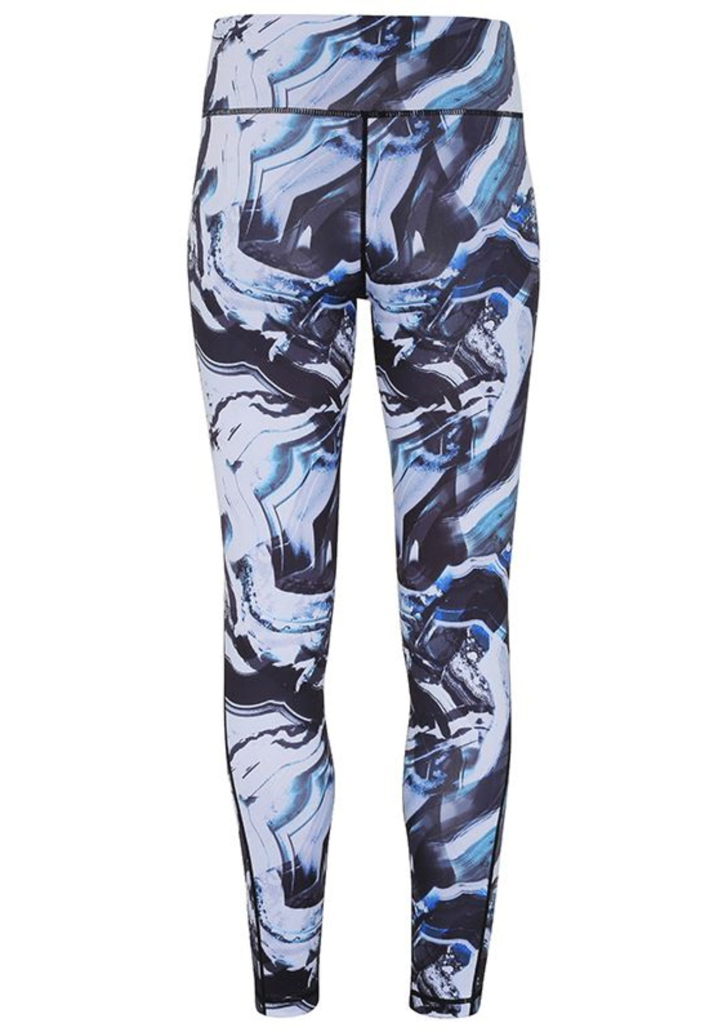 Womens WBF Performance Marble Print Leggings