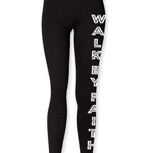 Kids Walk By Faith Leggings