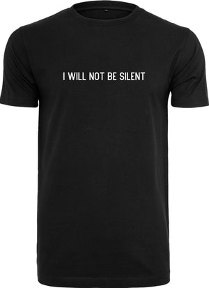 I will not be Silent Tee - Black