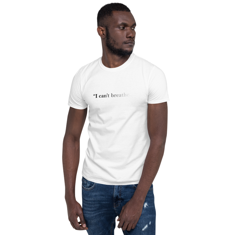 I can't Breathe Tee (White)