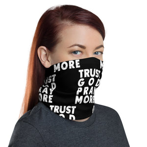 Trust God Neck Gaiter (Black)
