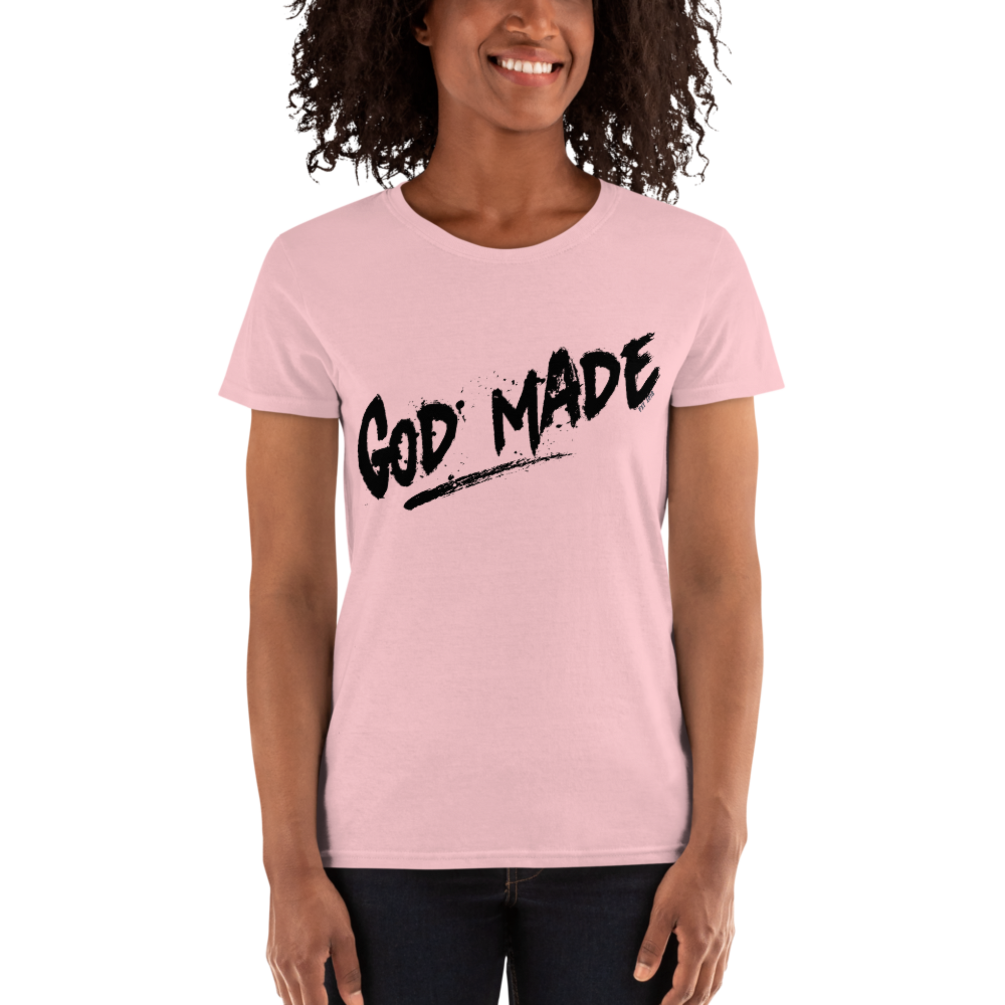 Women's God Made short sleeve t-shirt