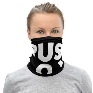 Trust God Neck Gaiter Bold (Black)
