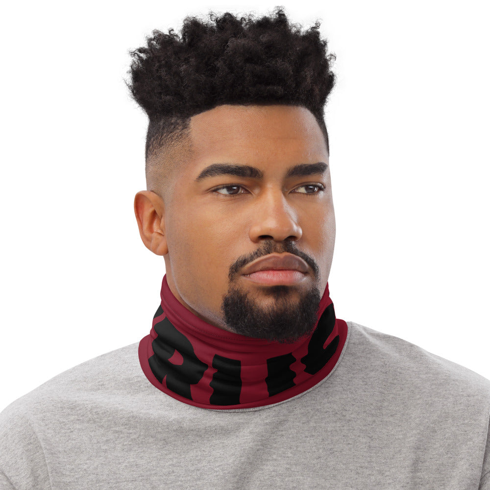Trust God Neck Gaiter Bold (Red)