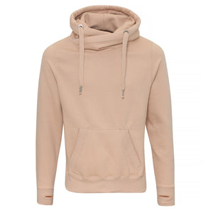 Womens IGYB Chunky Cross Neck Oversized Hoodie