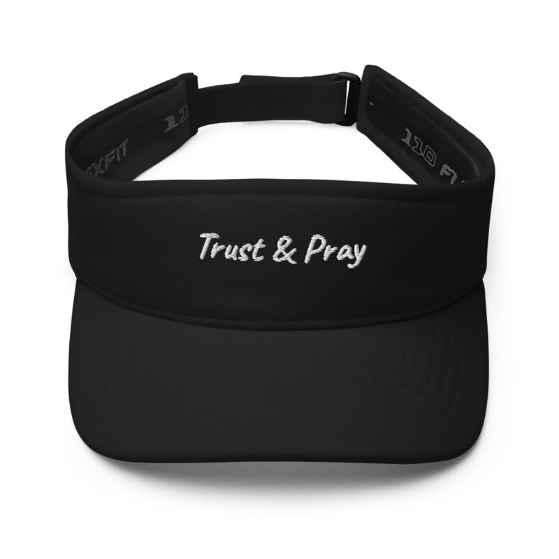 Trust and Pray Visor
