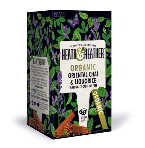 Heath & Heather økologisk chai te med lakris