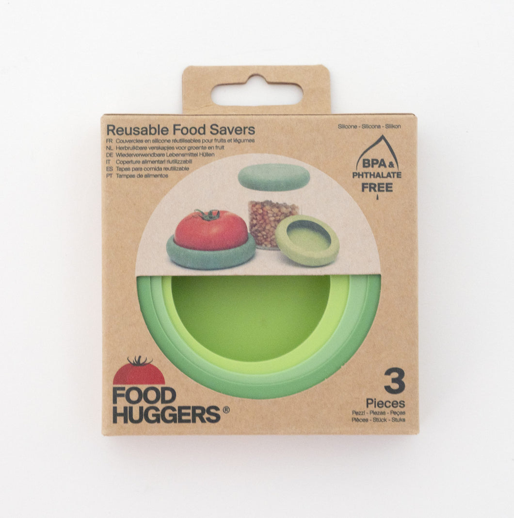 Food Huggers 3 pk Soft Greens