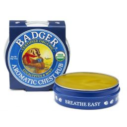 Badger Balms chest rub