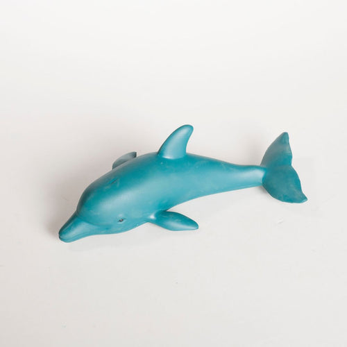 Green Rubber Toys -Delfin