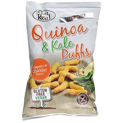 EatReal quinoa & kål chips