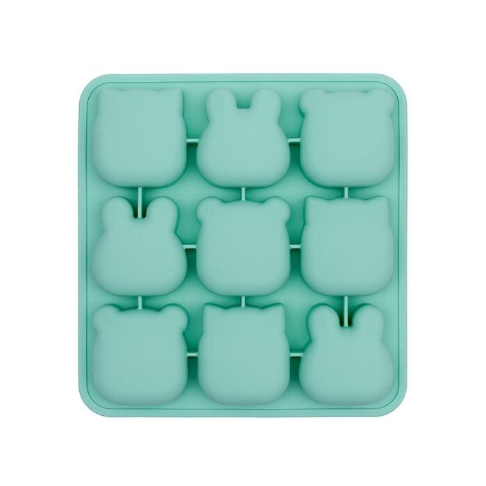 Frys & Bak silikonformer -Mint Green-