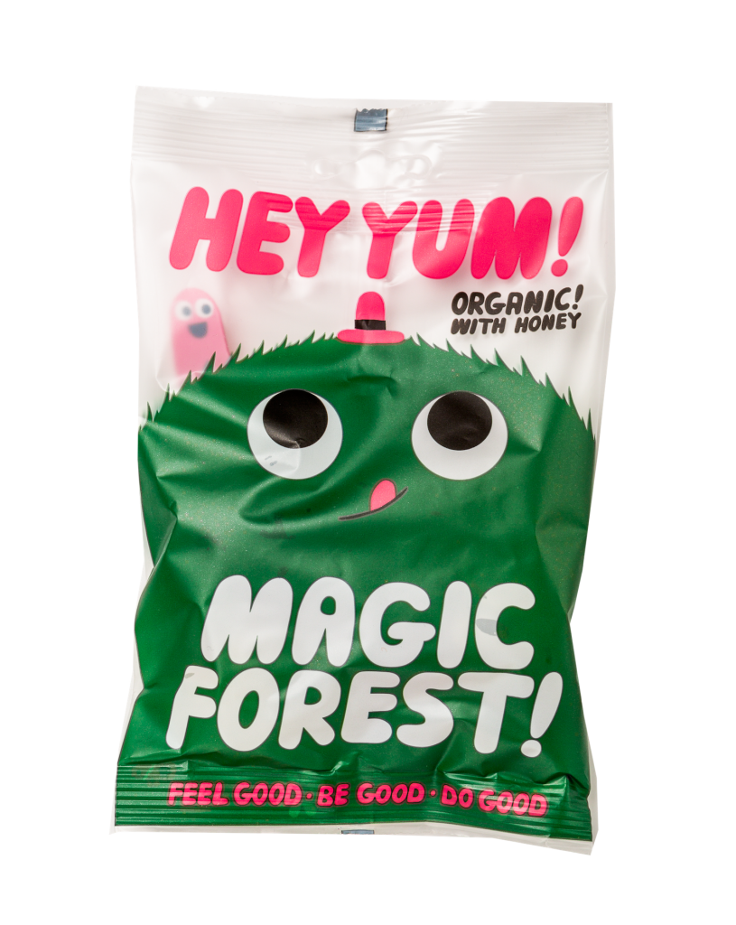 Hey Yum økologisk vingummi - Magic Forest- 50 gram